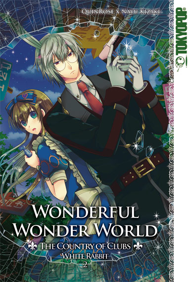 Wonderful Wonder World - The Country of Clubs: White Rabbit 2 - Das Cover