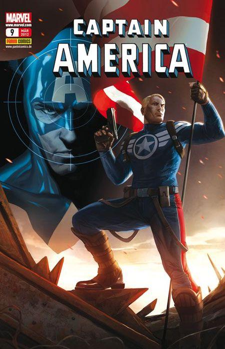Captain America 9 - Das Cover