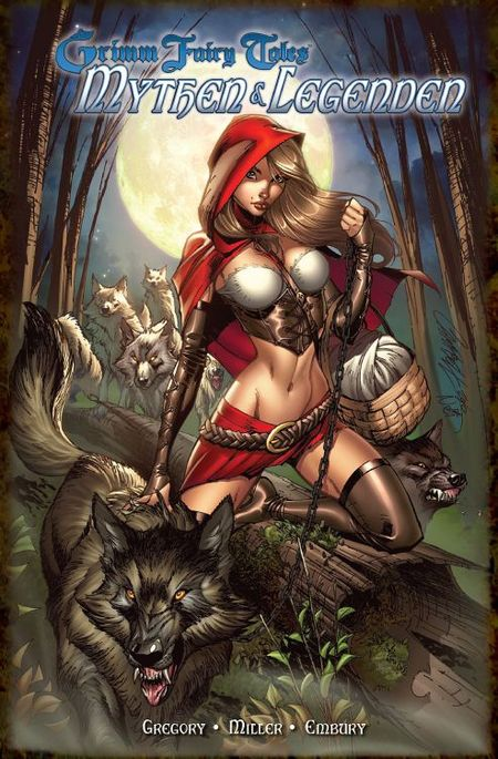 Grimm Fairy Tales: Mythen & Legenden - Das Cover