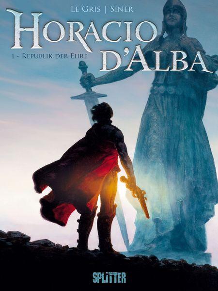 Horacio d'Alba 1: Republik der Ehre - Das Cover