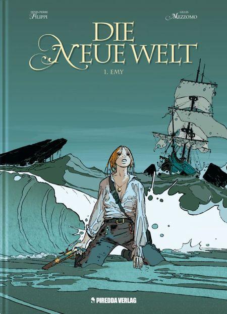 Die neue Welt 1: Emy - Das Cover