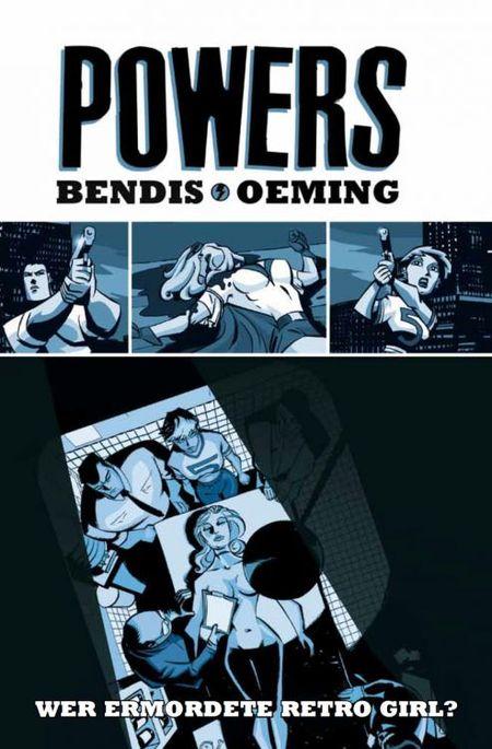 Powers 1: Wer ermordete Retro Girl? - Das Cover