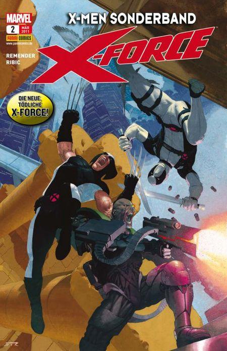 Die neue X-Force 2: Deathlok Nation - Das Cover