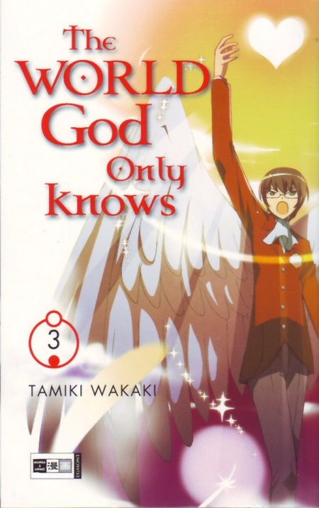 The World God only knows 3 - Das Cover