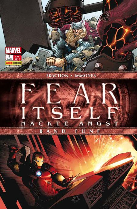 Fear Itself - Nackte Angst 5 - Das Cover