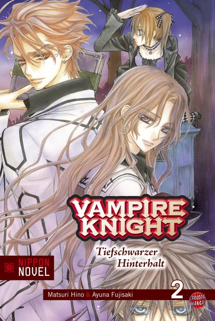 Vampire Knight (Nippon Novel) 2: Tiefschwarzer Hinterhalt - Das Cover