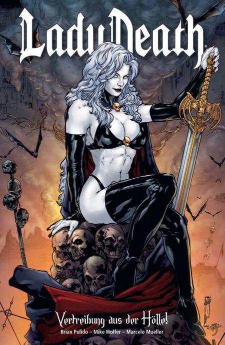 Lady Death 1 - Das Cover