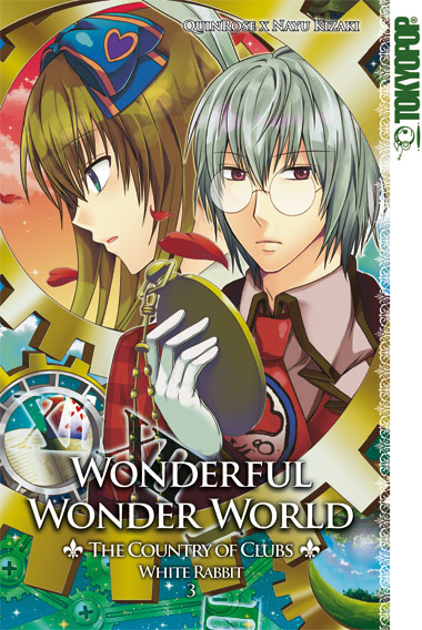 Wonderful Wonder World - The Country of Clubs: White Rabbit 3 - Das Cover