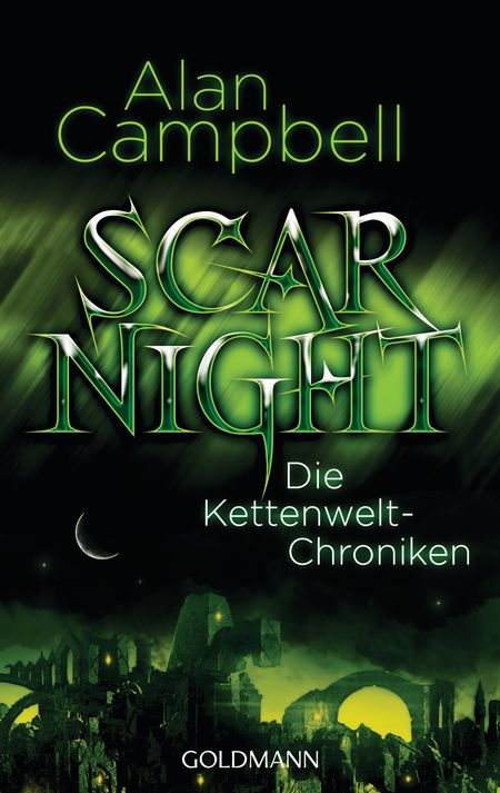 Scar Night: Die Kettenwelt-Chroniken - Das Cover