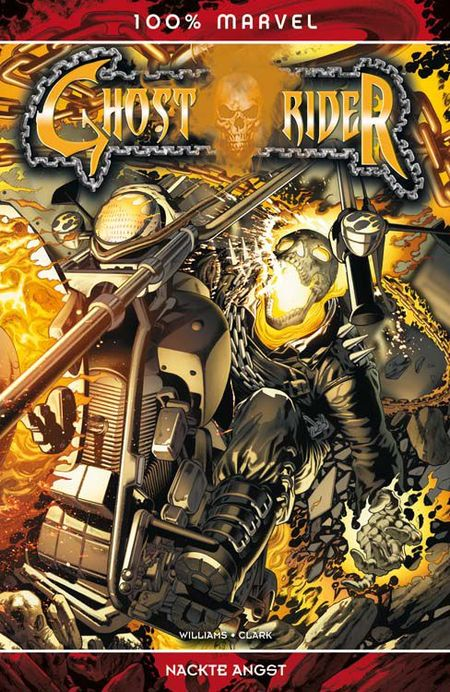 100% Marvel 60: Ghost Rider - Nackte Angst - Das Cover