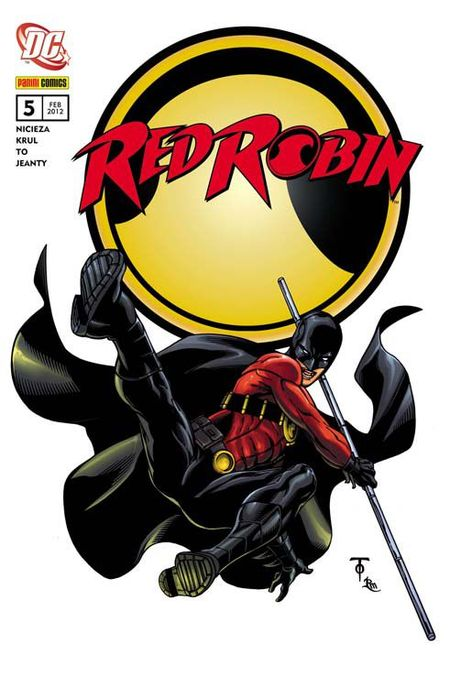 Red Robin 5: Randale im Unternet - Das Cover