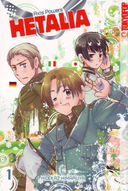 Hetalia - Axis Powers 1 - Das Cover