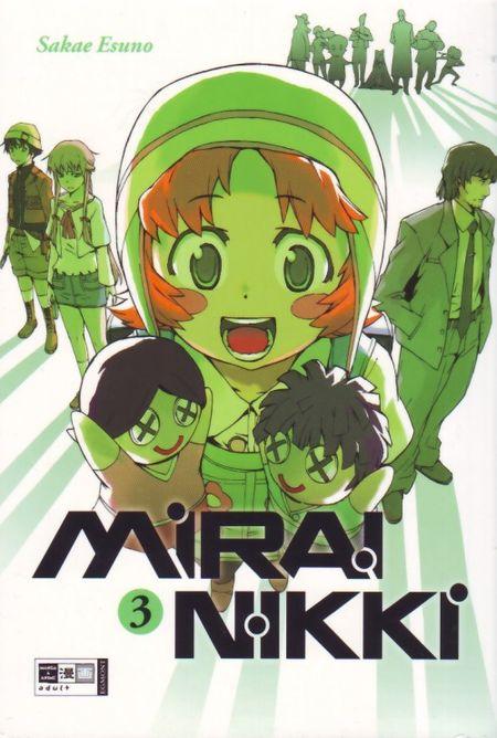 Mirai Nikki 3 - Das Cover