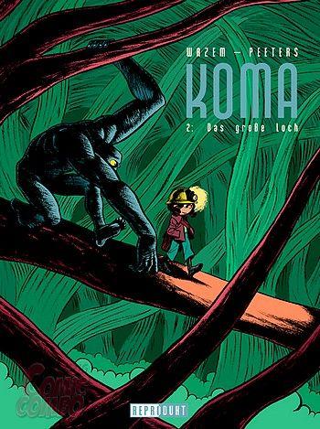 Koma 2: Das große Loch - Das Cover