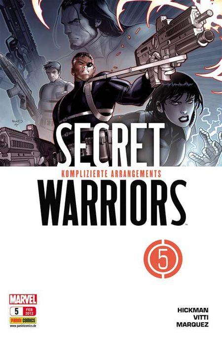 Secret Warriors 5: Komplizierte Arrangements - Das Cover