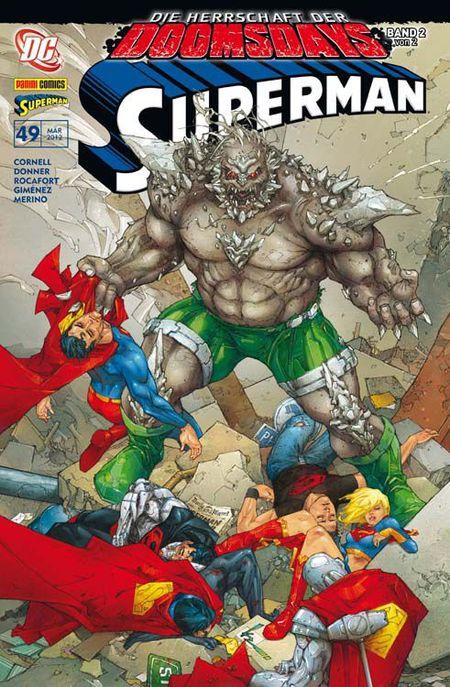 Superman Sonderband 49: Die Herrschaft der Doomsdays 2 (von 2) - Das Cover