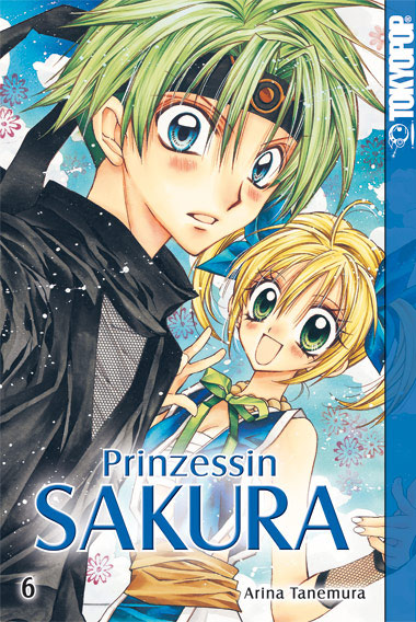 Prinzessin Sakura 6 - Das Cover