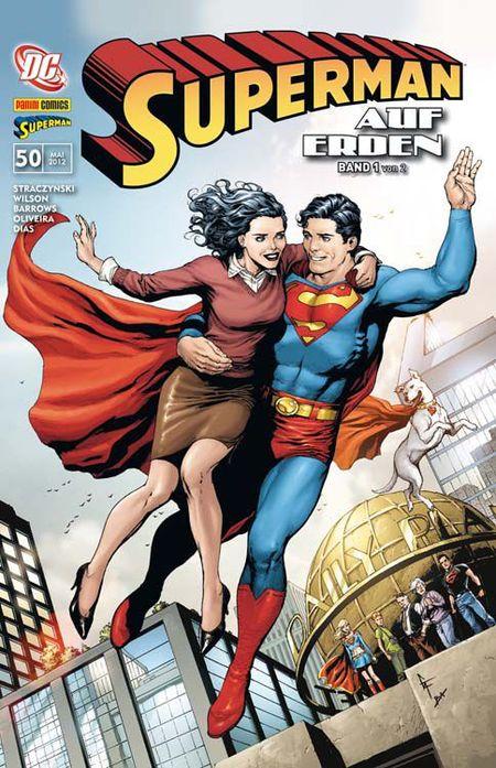 Superman Sonderband 50: Auf Erden 1 (von 2) - Das Cover