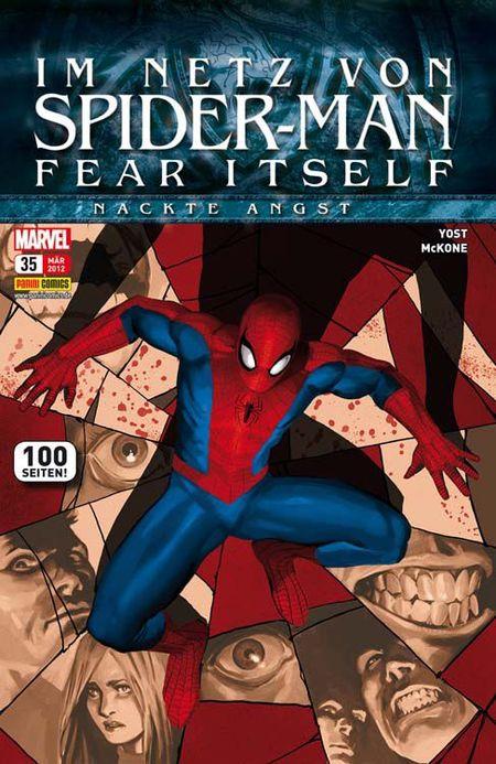 Im Netz von Spider-Man 35 - Das Cover