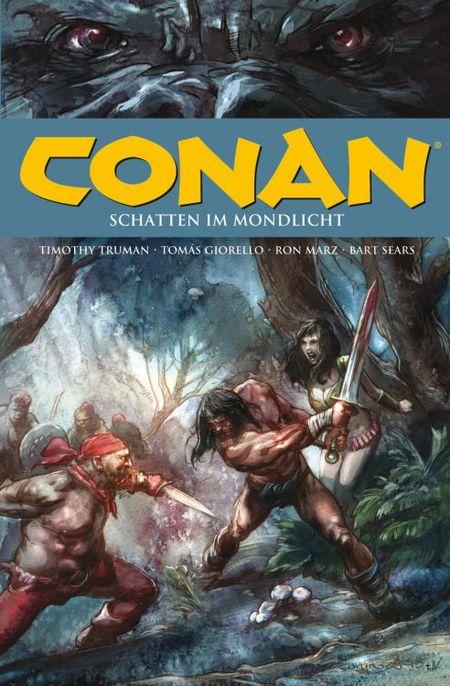 Conan 17: Schatten im Mondlicht und andere Geschichten - Das Cover