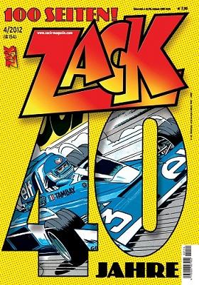 Zack 154 - Das Cover