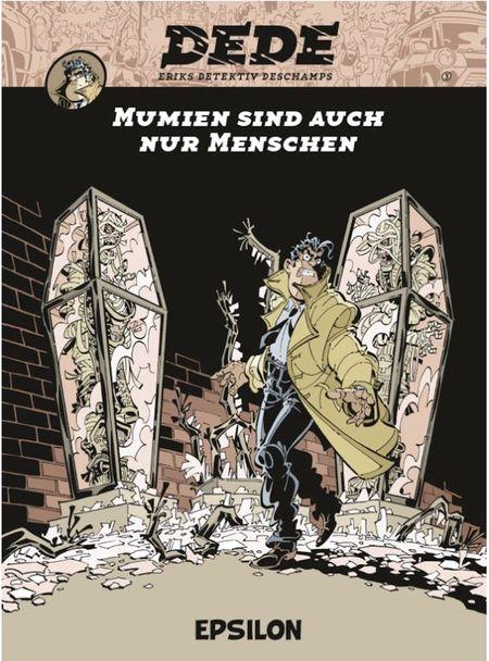 Dédé 3: Mumien sind auch nur Menschen - Das Cover