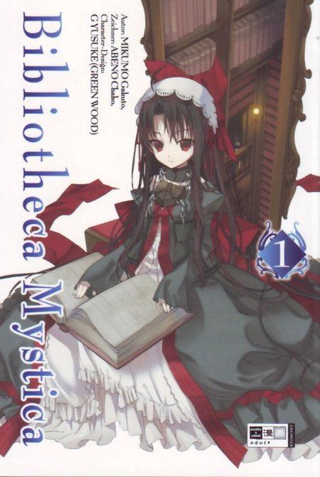 Bibliotheca Mystica 1 - Das Cover