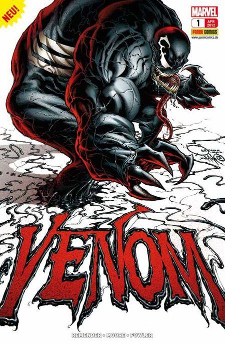Venom 1: Netz des Todes - Das Cover