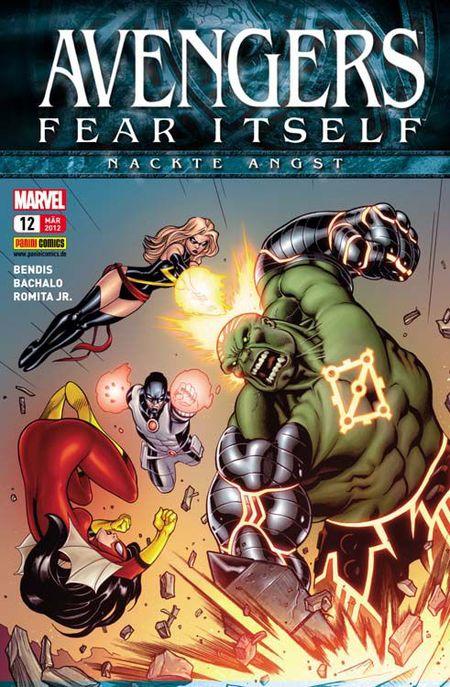 Avengers 12 - Das Cover