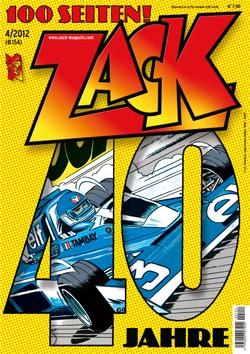 Zack Magazin 154 - Das Cover