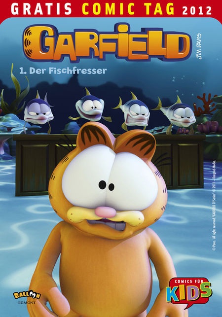 Garfield - Gratis Comic Tag 2012 - Das Cover
