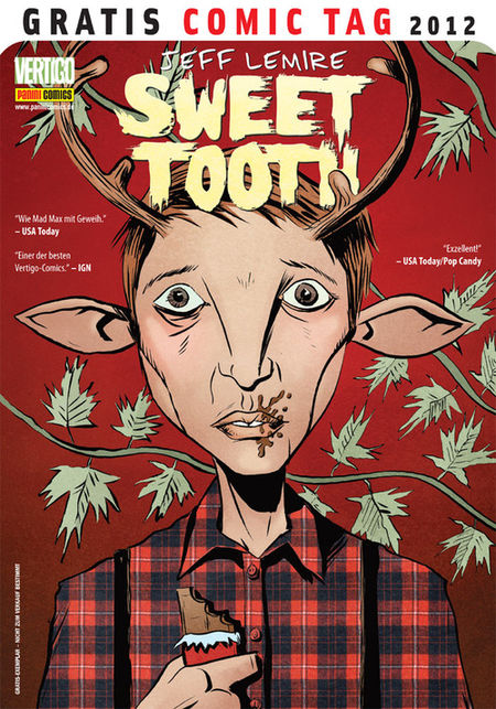 Sweet Tooth - Gratis Comic Tag 2012 - Das Cover