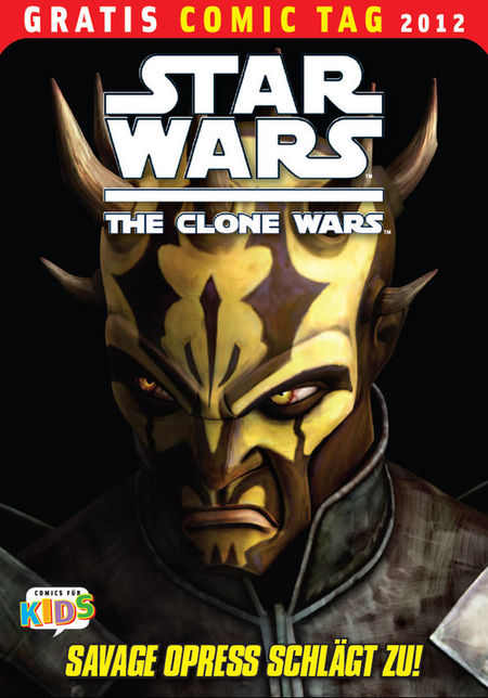 Star Wars - The Clone Wars - Gratis Comic Tag 2012 - Das Cover