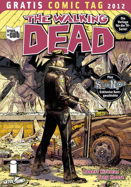 The Walking Dead - Gratis Comic Tag 2012 - Das Cover