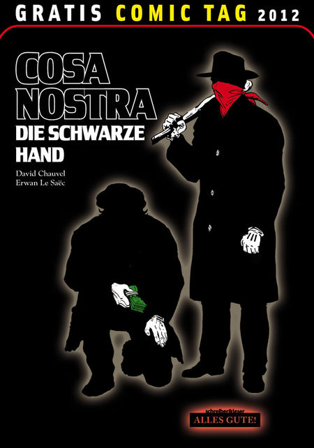 Cosa Nostra: Die Schwarze Hand - Gratis Comic Tag 2012 - Das Cover