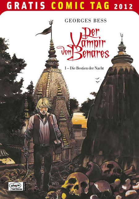 Der Vampir von Benares 1: Die Bestien der Nacht - Gratis Comic Tag 2012 - Das Cover