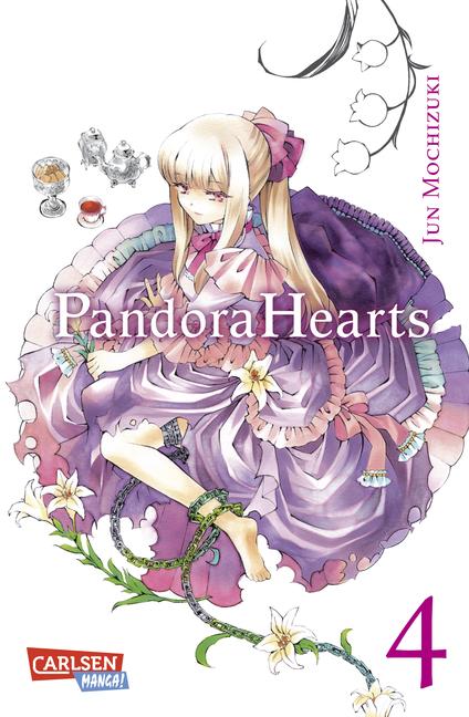 Pandora Hearts 4 - Das Cover
