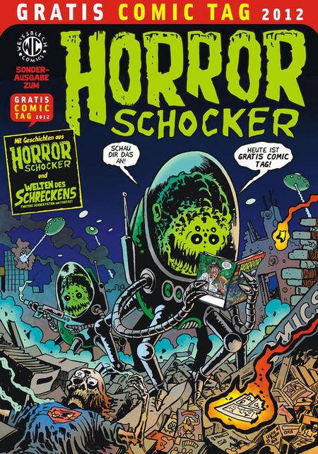 Horrorschocker - Gratis Comic Tag 2012 - Das Cover