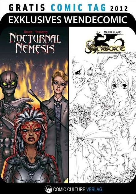 Nocturnal Nemesis / Grimoire - Gratis Comic Tag 2012 - Das Cover