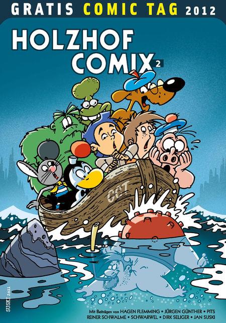Holzhof Comix 2 - Gratis Comic Tag 2012  - Das Cover