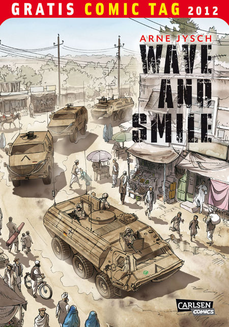 Wave and Smile - Gratis Comic Tag 2012 - Das Cover