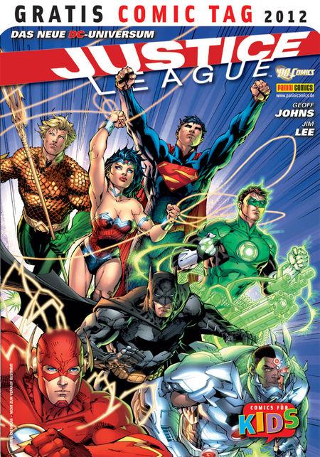 Justice League - Gratis Comic Tag 2012 - Das Cover