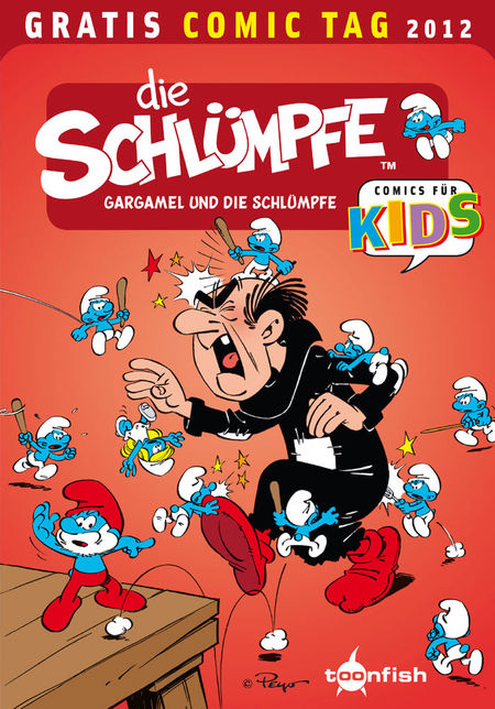 Die Welt der Schlümpfe: Gargamel und die Schlümpfe - Gratis Comic Tag 2012 - Das Cover