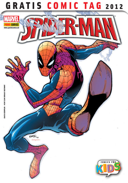 Spider-Man: Gratis Comic Tag 2012 - Das Cover