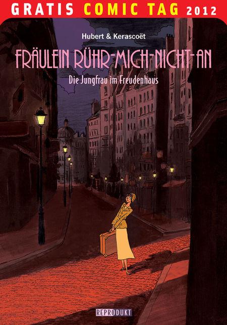 Fräulein Rühr-Mich-Nicht-An: Die Jungfrau im Freudenhaus - Gratis-Comic-Tag 2012 - Das Cover