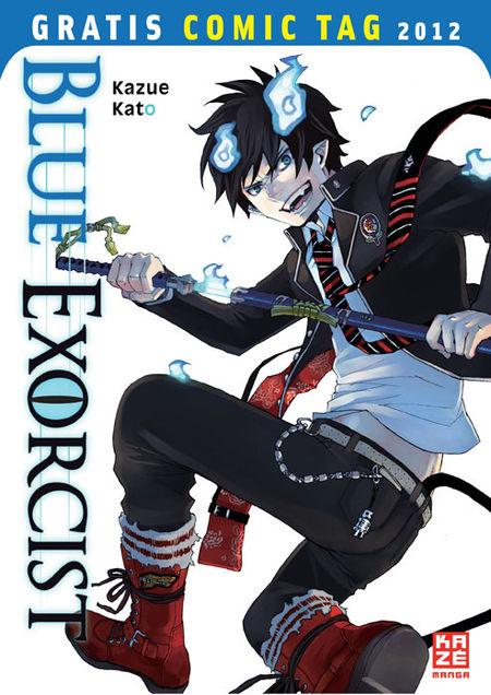 Blue Exorcist - Gratis-Comic-Tag 2012 - Das Cover