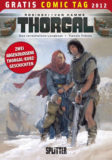 Thorgal - Gratis-Comic-Tag 2012 - Das Cover