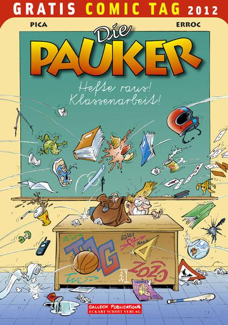 Die Pauker / Zauberschule Abrakadabra - Gratis Comic Tag 2012 - Das Cover