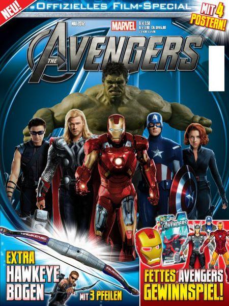 Avengers Movie Special - Das Cover