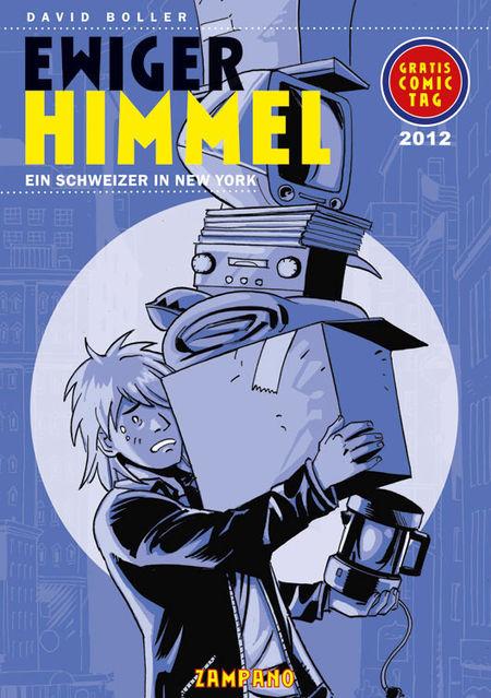Ewiger Himmel - Heft zum Gratis-Comic-Tag 2012 - Das Cover